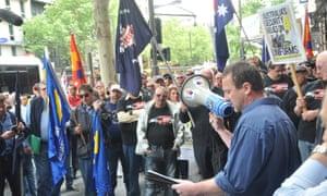 Shipbuilder rally