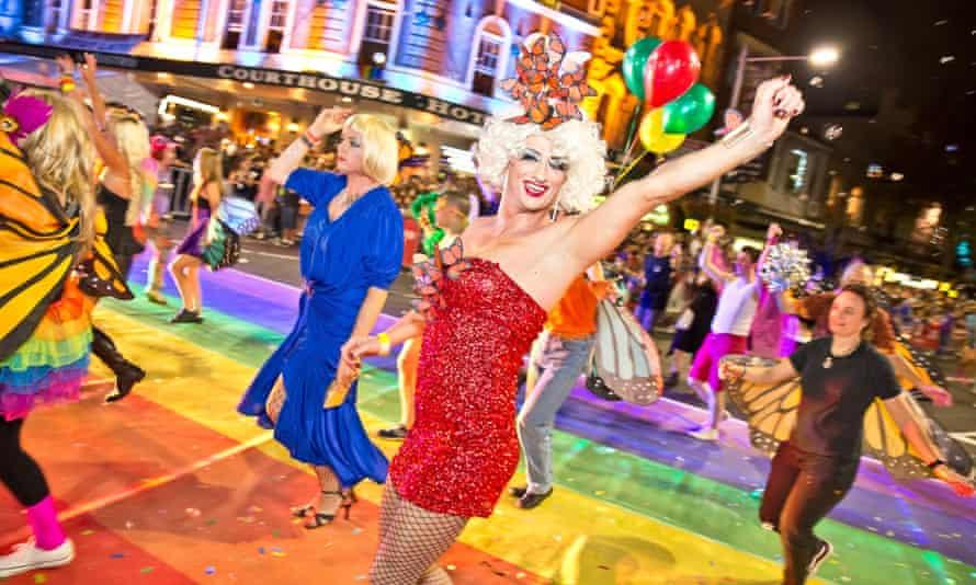 Mardi Gras 2015 Sydney