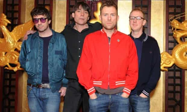 Blur after announcing album The Magic Whip in London