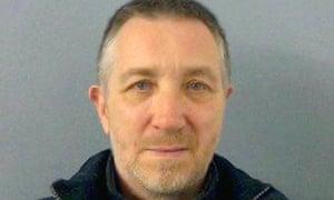 Philip Pickett pictured after his arrest.