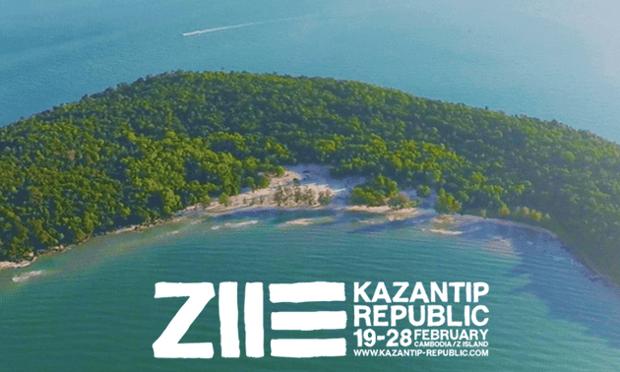 Kazantip festival was due to take place on Koh Puos, Sihanoukville
