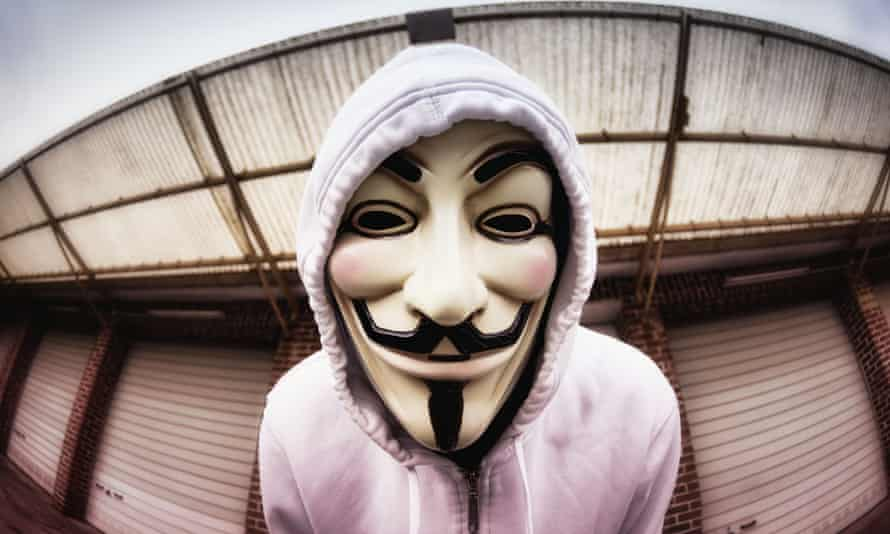 V for Vendetta Mask Anonymous