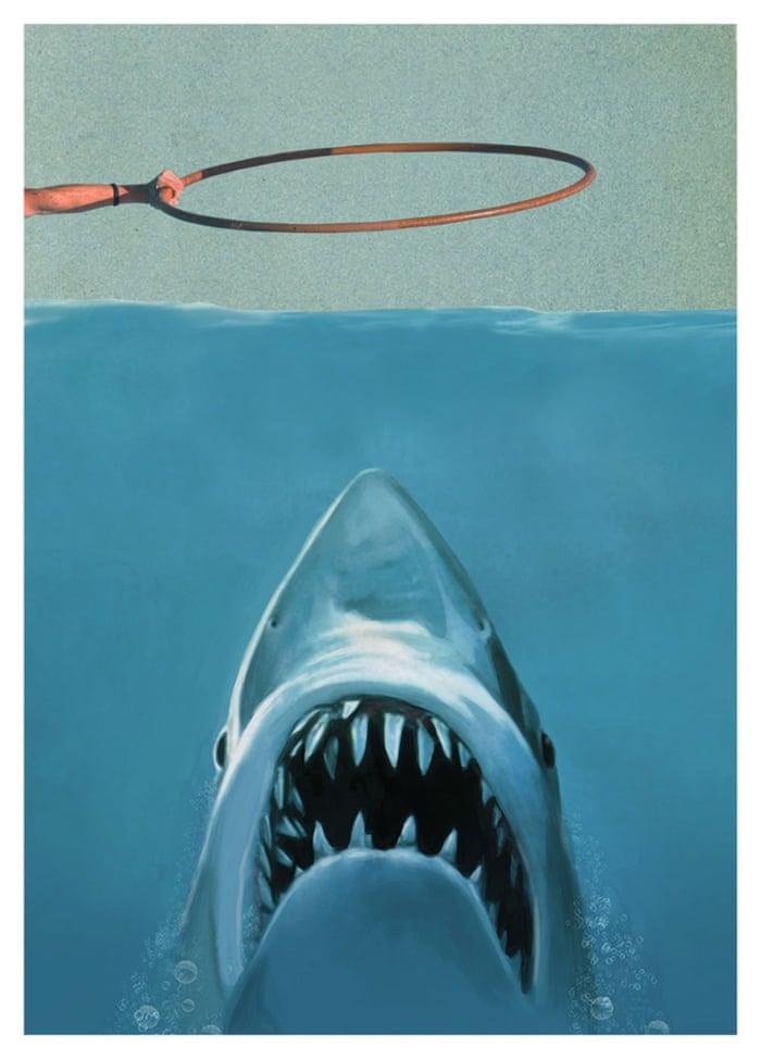 Jaws Oddly Head Hollywoodland