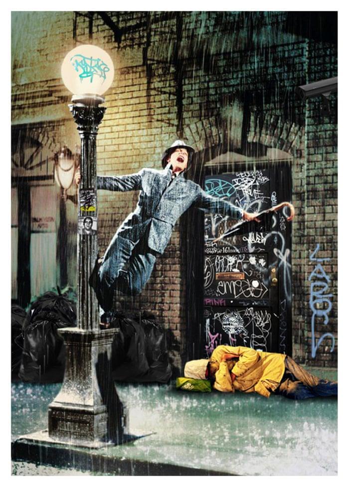Oddly Head Hollywoodland Singin' in the Rain