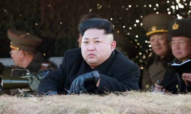 Kim Jong-un and his new haircut