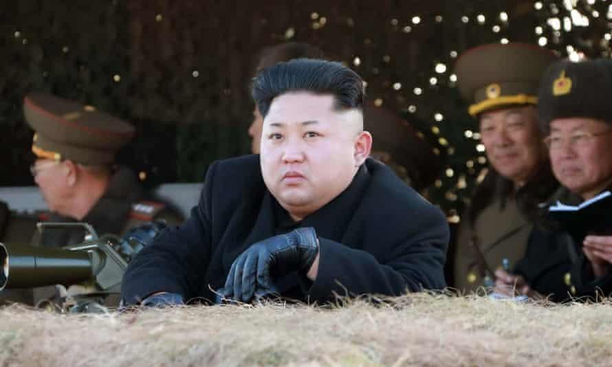 Kim Jong-un and his new haircut