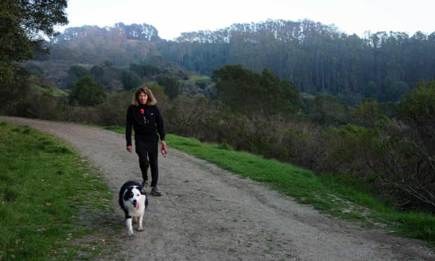 Ann Trason and her dog
