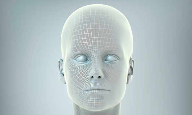 A digital rendering of a human form.