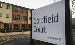 Goldfield Court care home in West Bromwich
