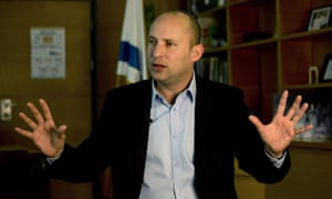Naftali Bennett, leader of the Jewish Home party.