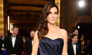 Sandra Bullock attends the Oscars
