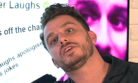 Dapper Laughs creator Daniel O'Reilly.