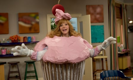 Kudrow in first series of The Comeback.