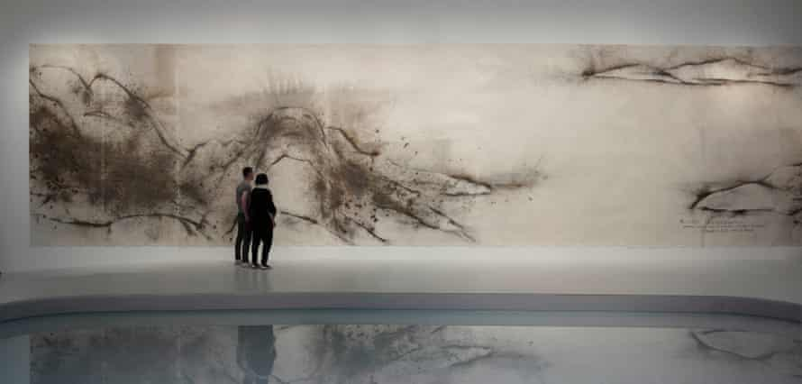 Unmanned Nature: Project for the Hiroshima City Museum of Contemporary Art, 2008 by Cai Guo-Qiang at the Whitworth.