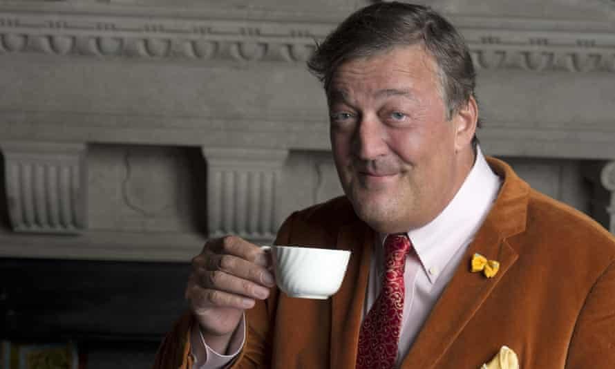 Stephen Fry tweets about good causes but doesn't charge.