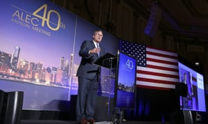 Jeb Bush speaks at the American Legislative Exchange Council's 40th annual meeting in August 2013.