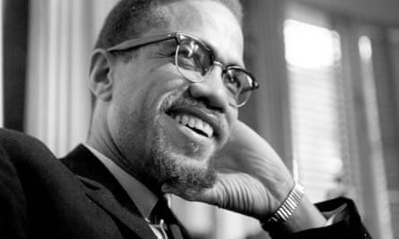 Malcolm X in Rochester, New York, 1965.