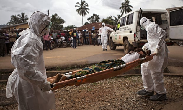 Healthcare workers tackle the Ebola outbreak in Sierra Leonea