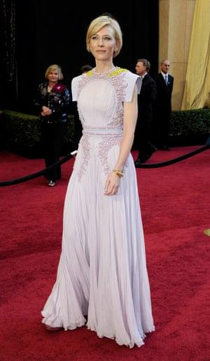 Actress Cate Blanchett in 2011