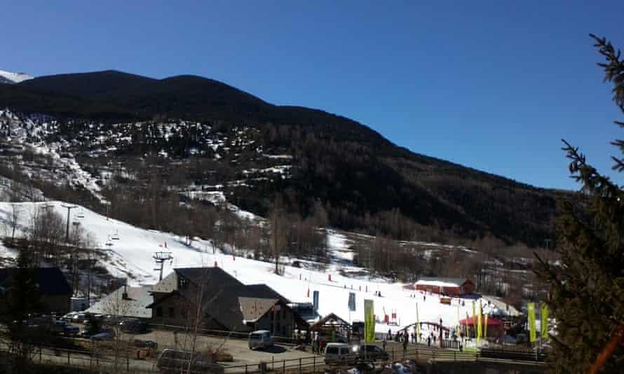 Benasque ski slopes