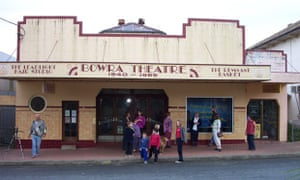 Bowraville theatre, which once had a partition dividing white audience members from black.