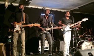 Songhoy Blues at the Cumberland Arms as part of the 6 Music Festival 2015