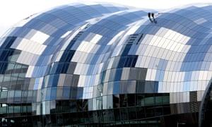 The Sage Gatehead, the main venue for the BBC 6 Music Festival on Tyneside