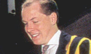 An undated photgraph og Nick Leeson during his time as a Barings trader