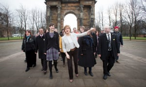 Nicola Sturgeon launches SNP general election campaign