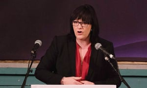 Louise Bours MEP speaks to a Ukip conference on 7 February in Hartlepool.