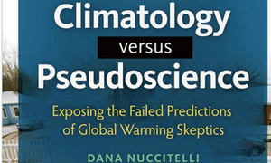 Climatology versus Pseudoscience cover