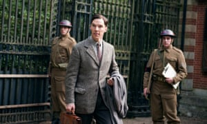 Oscar nominee Benedict Cumberbatch in The Imitation Game