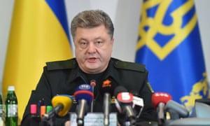 'Today is memorial Sunday, but on this day terrorist scum revealed its predatory nature', Ukrainian President Petro Poroshenko said on Facebook.