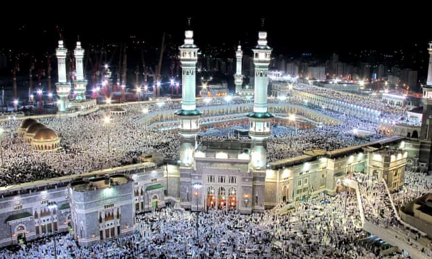 The holy city of Mecca, Saudi Arabia. A counter-terrorism forum heard Al-Azhar grand imam Ahmed al-Tayib link extremism to bad interpretations of the Koran.