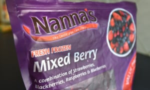 Nanna's frozen mixed berries implicated in the hepatitis a scandal