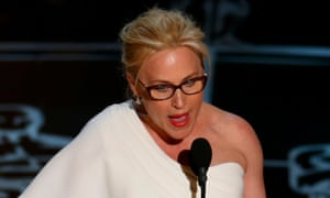 Patricia Arquette speaks after winning the Oscar for Best Supporting Actress for her role in Boyhood.