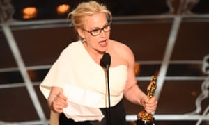 Winner for Best Supporting Actress  ...Patricia Arquette!
