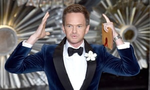 Neil Patrick Harris at the end of a very long night.