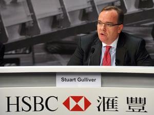 HSBC group chief executive Stuart Gulliver.