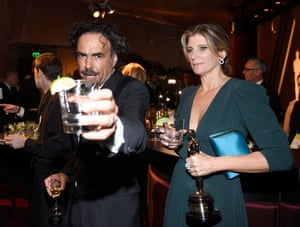 Alejandro Gonzalez Inarritu  at the Governors Ball