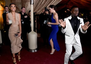 Kevin Hart and Eniko Parrish at  the Annual  Governors Ball