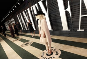 Sia at theVanity Fair party