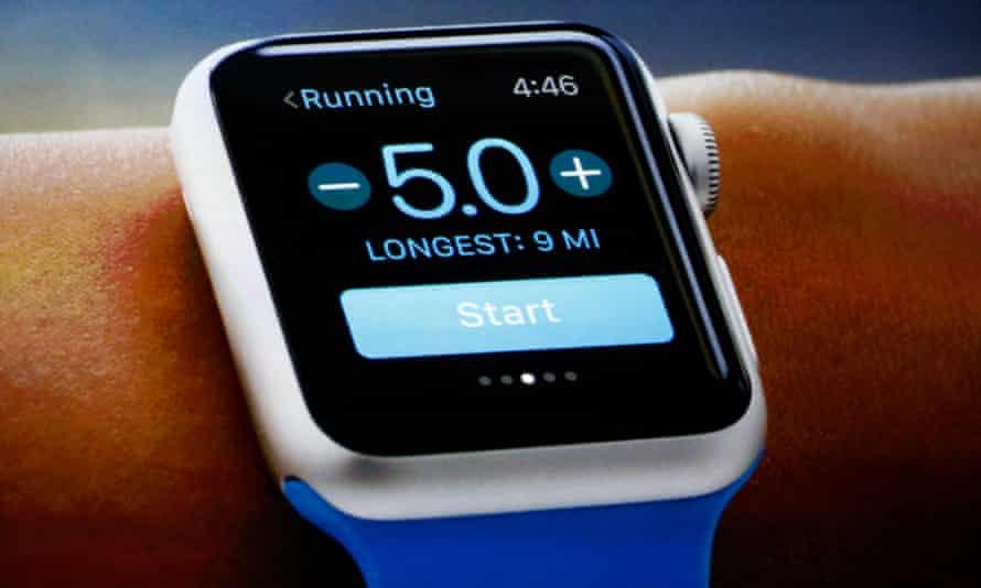 An Apple Watch.