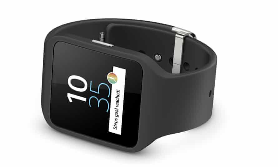 The Sony Smartwatch 3.