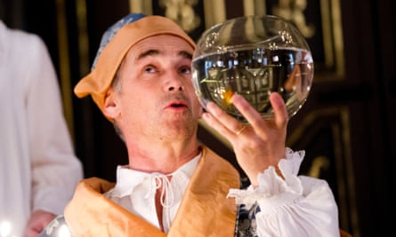 Mark Rylance in Farinelli and the King.