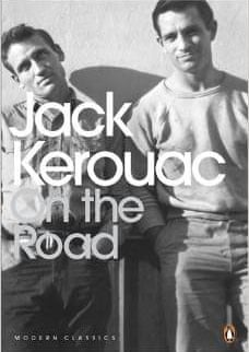 Carolyn Cassady's photograph of Neal Cassady and Jack Kerouac on the cover of the novel.