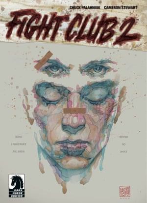 The cover of Palahniuk's comic-book sequel to his 1996 novel Fight Club.
