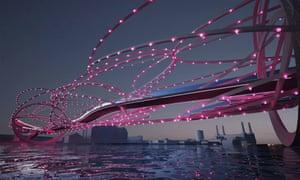 The razor-wire party bridge
