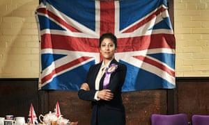 Priyanga Burford as Deepa Kaur, Ukip's newly elected fictional MP for Romford in Ukip: The First 100 Days