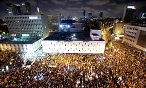 A 2011 protest against rising house prices and social inequality that helped to put the cost of living on Israel's political agenda.
